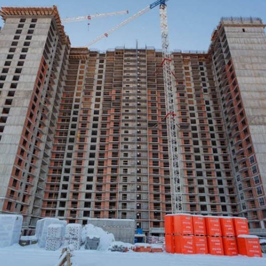 ЖК Балканы, ход строительства февраль 2018